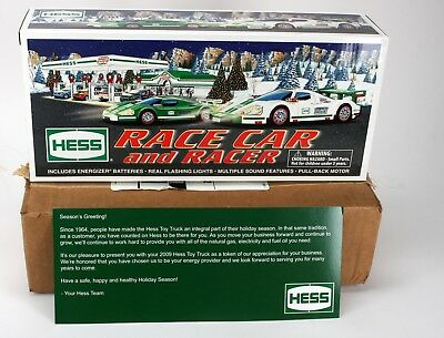 2009 Hess Race Car And Racer In Original Box Unopened & Shipping Box