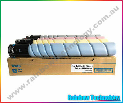 TN321C CYAN compatible toner cartridge for Konica Minolta Bizhub C224 C284 C364