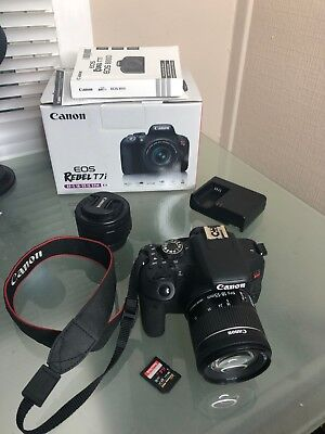 CANON EOS REBEL T7i / 800D DSLR Camera (Body Only) Brand New