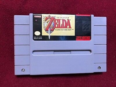 The Legend Of Zelda A Link To The Past For Super Nintendo SNES Authentic Tested