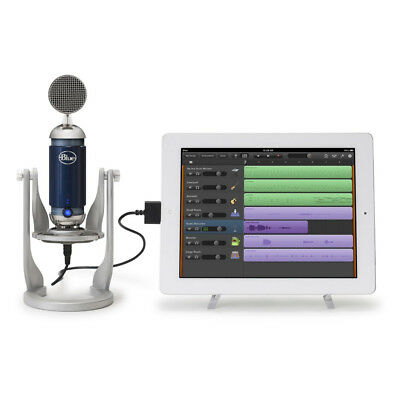 Blue Spark Digital Studio USB Lightning i-Pad Microphone for Podcast Garage Band