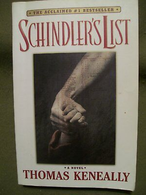 Schinler's List Thomas Keneally 1993 Softcover/pb