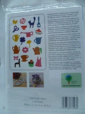 Brother Scan n Cut AppliquePattern collection No 2