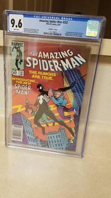 Amazing Spider-Man 252 CGC 9.6 Canadian Price Variant White Pages