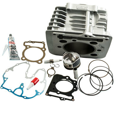 FULL SET Top End Cylinder Piston Kit fit Honda XR400 and TRX400 1996 TOP QUALITY