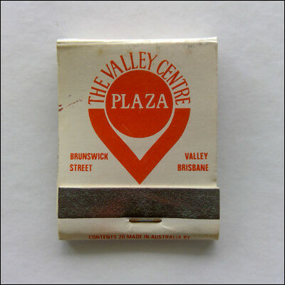 The Valley Centre Plaza Brunswick Brisbane Jeaneration 511150 Matchbook (MK47)