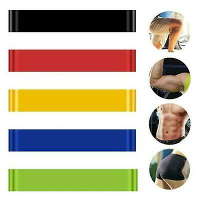 1/4/6pcs Resistance Loop Bands Mini Band Exercise Crossfit Strength Fitness GYM