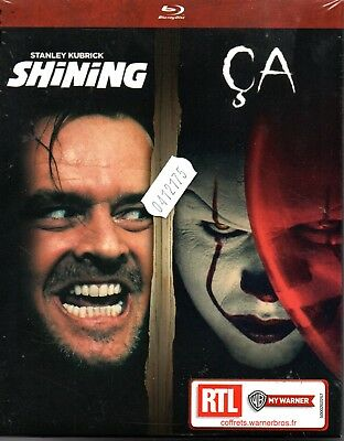 SHINING + CA version 2017  COFFRET 2 BLU RAY  NEUF ref04121810