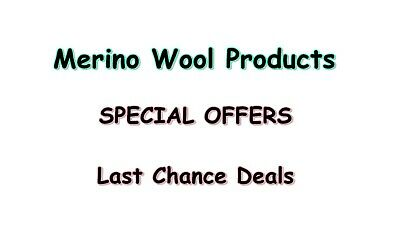 Merino Wool Last Chance Deals, Last-Chance-Buys SPECIAL OFFERS WOOL BLANKET