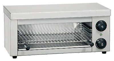 Commercial Catering Electric Salamander Grill Adjustable Toaster Freestanding