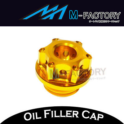 Scooter CNC Gold Engine Oil Filler Cap For Honda NC 700 Integra 750 Integra