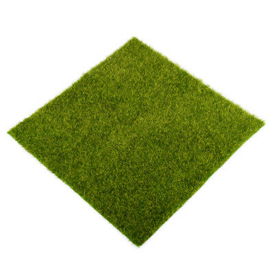 30cm Faux Lawn Artificial Miniature Grass Fairy Garden Ornament Dollhouse Decor