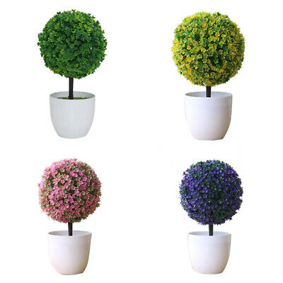 Artificial Plants Fake Green Leaves Wedding Party Office Home Garden Decor