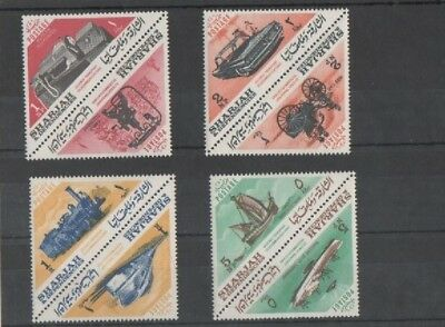 SHARJAH 1965 Science, transport and telecommunications (10 timbres)