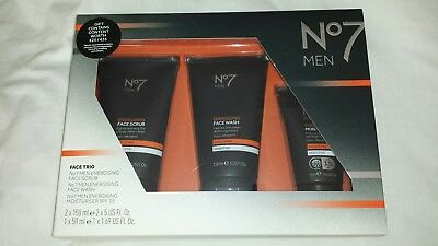 Boots No7 Men Face And Skin Care Gift Set
