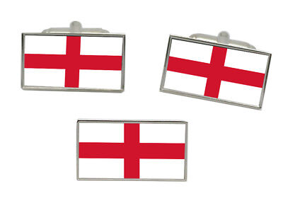 Select Gifts Middlesex County England Flag Cufflinks Engraved Box