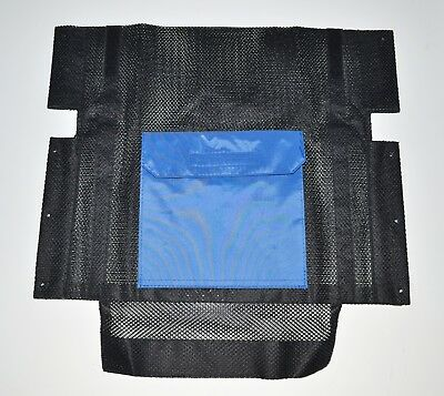 """Back Rest Mesh Canvas for Excel G-Lite Wheelchair 20"""" 50cm seat width"""