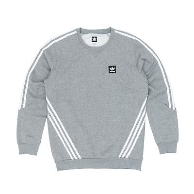 0018ff56d516e ADIDAS INSLEY CREWNECK Sweatshirt Pullover Jumper – Grey/White in ...