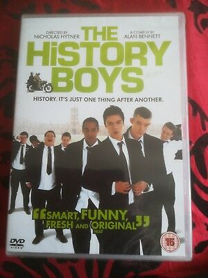 THE HISTORY BOYS REGION 2 NEW AND SEALED by Nicholas hynter