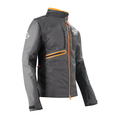 Acerbis Enduro Jacke Enduro One Schwarz/Fluo Orange