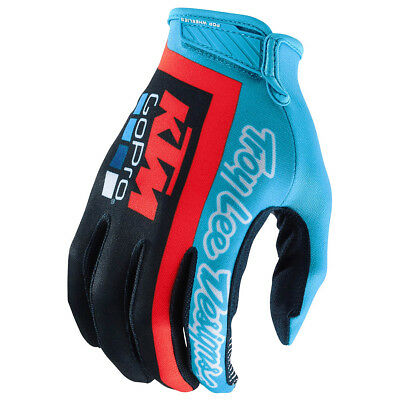 Troy Lee Designs Handschuhe Air KTM GoPro - Navy/Cyan