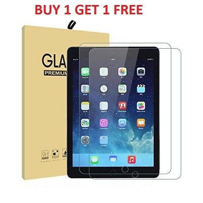 100% Tempered Glass Film Screen Protector Apple iPad 9.7-inch (2018) 6th GEN