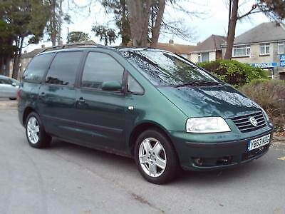 Volkswagen Sharan  1.9Tdi Pd 2001 7 Seater £895 Px To Clear New M.o.t Hpi Clear