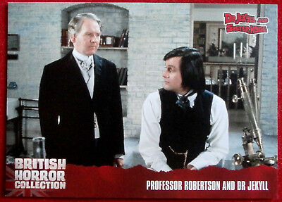 BRITISH HORROR COLLECTION - Dr Jekyll & Sister Hyde - PROF ROBERTSON - Card #45