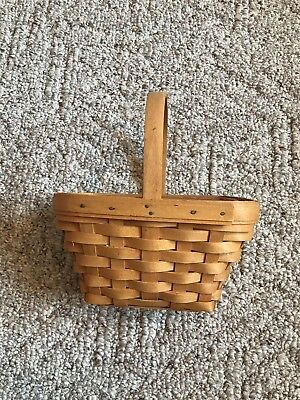 Longaberger Small Comforts Basket 17558 With Removable Plastic Protector