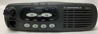 Motorola CDM750 UHF Mobile Radio 4 Channel 40 Watt 450-512MHz