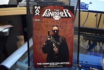 The Punisher The Complete Collection Volume 2 Marvel TPB HUGE Garth Ennis