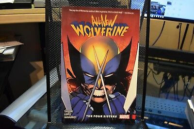 All New Wolverine Volume 1 The Four Sisters Marvel Comics TPB X-23 Laura Kinney