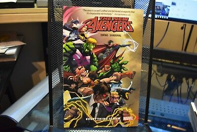 The New Avengers AIM Volume 1 Everything is New Marvel TPB Ewing Sandoval