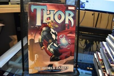 Thor The World Eaters Marvel Hardcover New Sealed Matt Fraction Pasqual Ferry