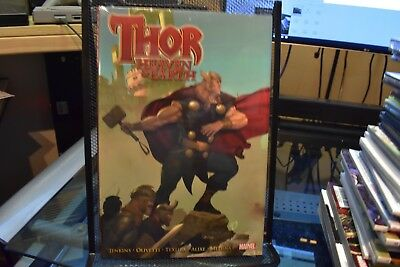 Thor Heaven & Earth Marvel Deluxe OHC Hardcover New Sealed Jenkins Olivetti