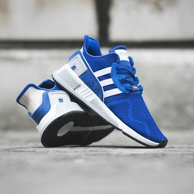 aa58af3a5a74 NEW Adidas EQT Cushion ADV Mens Sz 7 Running Shoes Royal Blue Cloud White  CQ2380