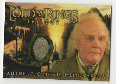 Bilbo's Grey Havens Waistcoat Lord of the Rings Trilogy Chrome LOTR Costume Card