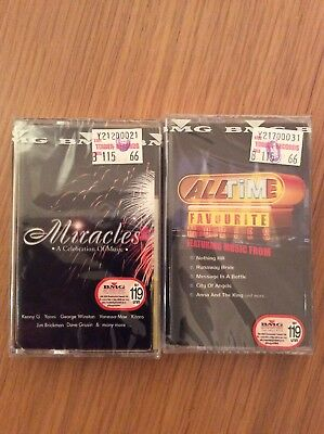 Miracles-A Celebration Of Music/All Time Favourite Movies (New 2 x Cassettes)