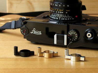 SOOM Leica MP Film Rewind Lever Black Paint/ Chrome/ Brass M2 M3 MP  MA