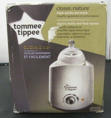 Tommee Tippee Closer to Nature Electric Baby Bottle and Food Warmer - 1795