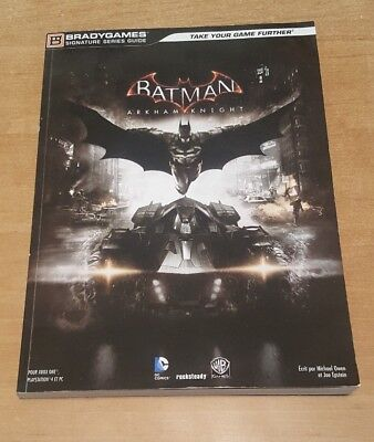 guide stratégique officiel BATMAN ARKHAM knight PS4 PC XBOX one