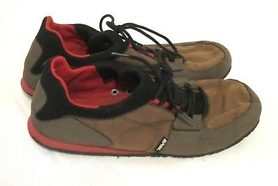 0cf73fff66ddb8 Teva 4320 Mens Size 12 Brown Black Mush Frio Canvas Lace-Up Shoes  Lightweight