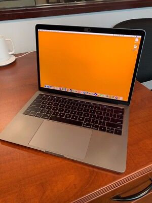 """2017 Apple MacBook Pro 13"""" Space Grey with Touch Bar - 256GB/ 8GB - Excellent"""
