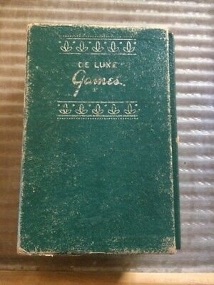 Vintage 1930's De Luxe Games Corp., Travel Games, Album 1