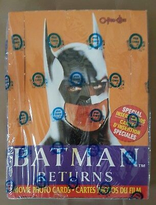 Batman Returns Movie Photo Cards Topps Sealed Box NOS MISB