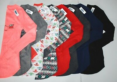 New Nwt Old Navy Graphic Thermal Knit Top Women Xs - Xxl 2018/19 Solid & Print