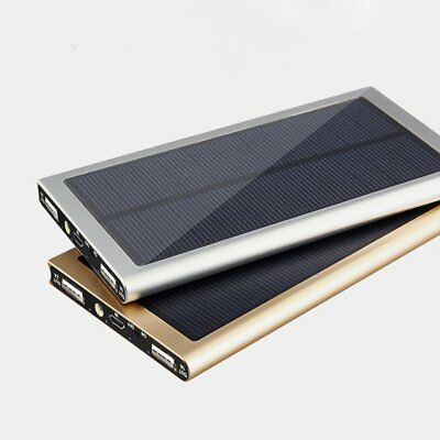 Ultra Thin 20000mAh Phone Battery Charger Solar Panel External Power Bank Y5