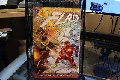 The Flash Volume 2 Rogues Revolution DC New 52 Hardcover Manapul & Buccellato