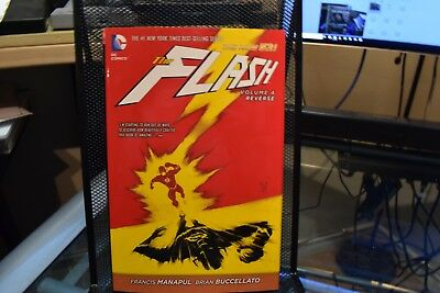 The Flash Volume 4 Reverse DC New 52 Hardcover Manapul & Buccellato