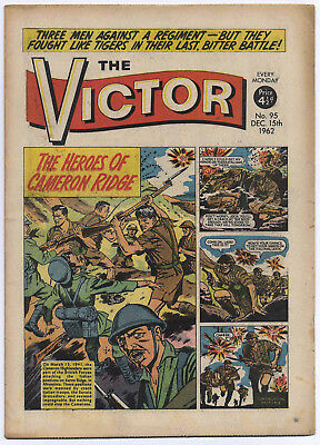 The Victor 95 (Dec 15, 1962) very high grade